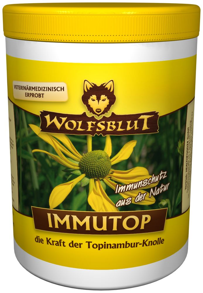 tierkosmos wolfsblut immutop mit tobinambur 500g. Black Bedroom Furniture Sets. Home Design Ideas