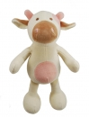 Simply Fido Organic Collection Millie Cow White 25cm