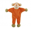 Simply Fido Organic Collection Unstuffed Oscar Monkey Orange 23cm