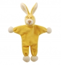 Simply Fido Organic Collection Unstuffed Lucy Bunny Yellow 23cm
