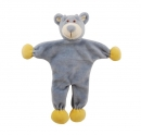 Simply Fido Organic Collection Unstuffed Wally Bear Blue 23cm