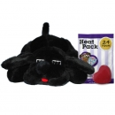 Snuggle Puppy Black Lab With Real Heartbeat