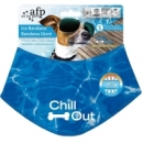 All for Paws Chill Out Ice Bandana- kühlendes Halstuch für Hunde, Größe L